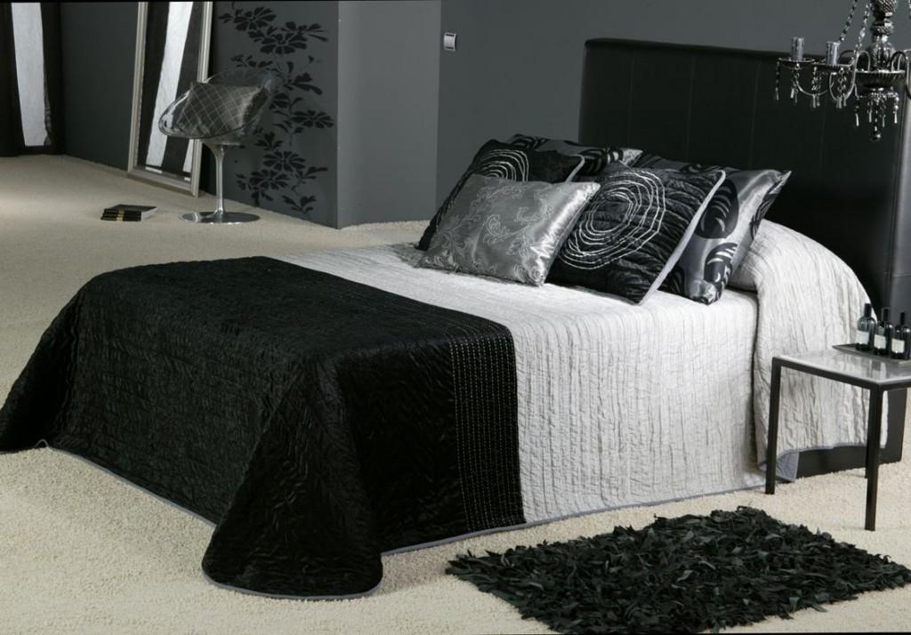 Kamar tidur warna Abu abu